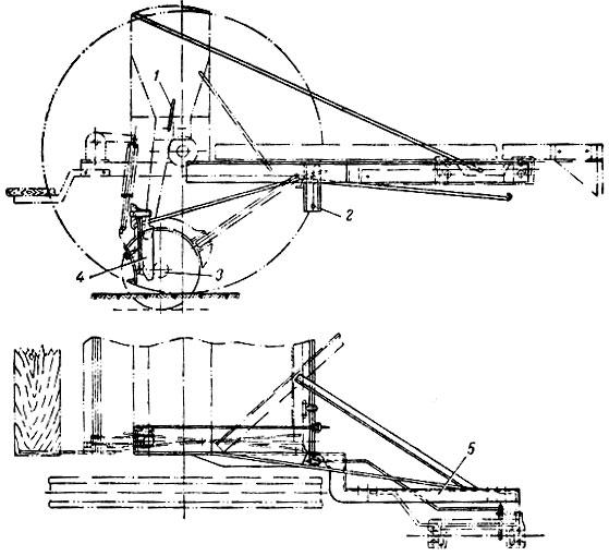 Схема сеялки Т8-2А с