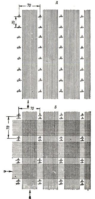 Схема рядового и