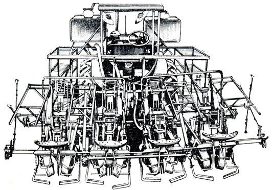 Рассадопосадочная машина GPH-4