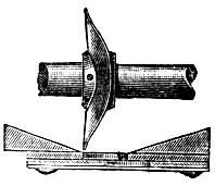 Рис. 4. Высевающий аппарат с мотыльком в виде изогнутой шайбы