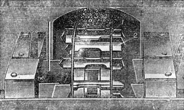 Рис. 5. Ложечный высевающий аппарат: 1 - диск; 2 - ложечка; 3 - черпальное отделение