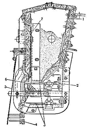 Тракторная разбросная туковая