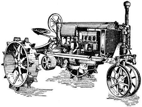 1 трактор